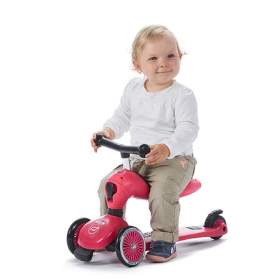 Scoot and Ride Highwaykick 1 Rosa - Minijoy