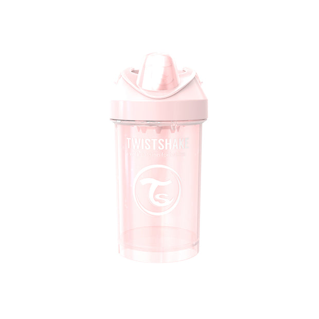Twistshake Crawler Cup 300ml Pastellrosa (2069888761954)