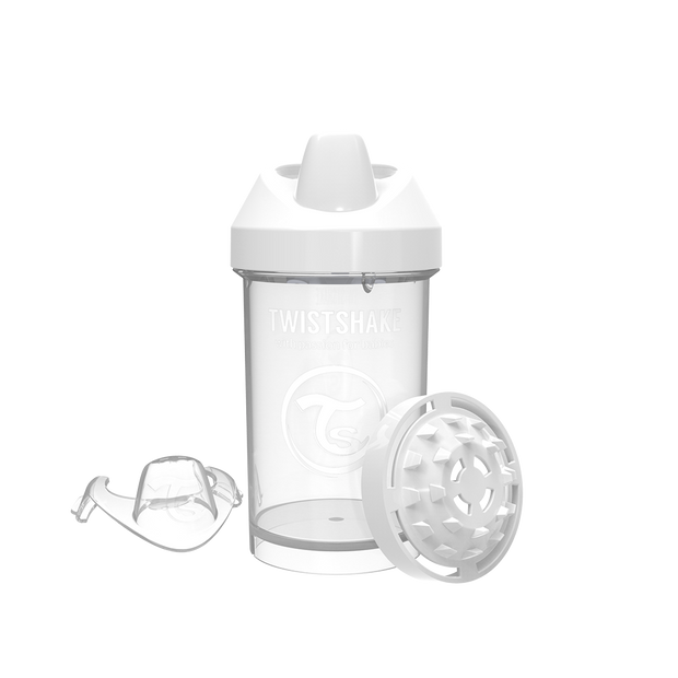 Twistshake Crawler Cup 300ml Vit (2069878636642)