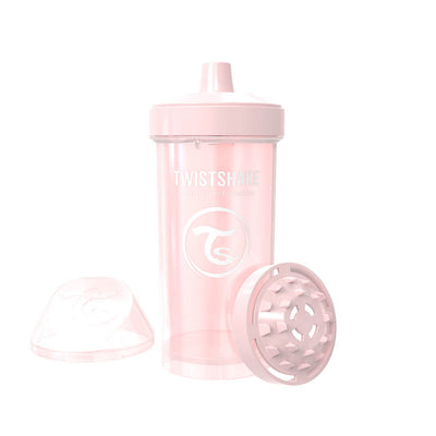 Twistshake Kid Cup 360ml Pastellrosa (2069922545762)