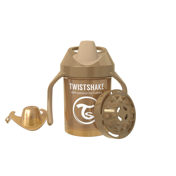 Twistshake Mini Cup 230ml Pearl Champagne