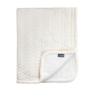 Vinter & Bloom Cuddly Filt Ivory - Minijoy (1858446164066)