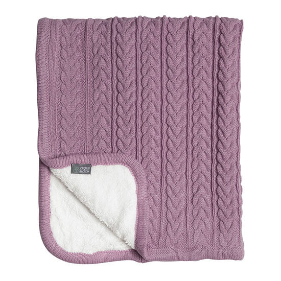 Vinter & Bloom Cuddly Filt Soft Pink - Minijoy (1858424176738)