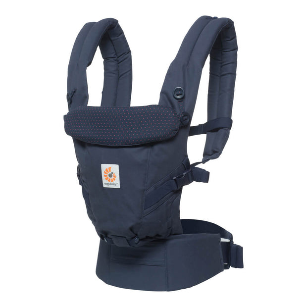 Ergobaby Bärsele Adapt Navy Mini Dots (2027478712418)