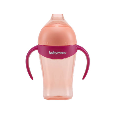Babymoov anti-dropp mugg 180ml Peach - Minijoy (1794841444450)