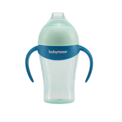 Babymoov anti-dropp mugg 180ml Blå - Minijoy (1794749923426)