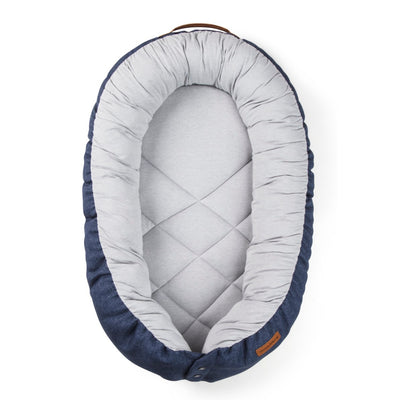 EcoViking SleepyViking Babynest Blå (3833527533666)