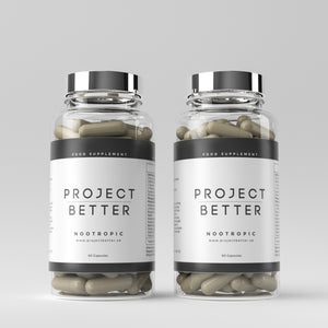 Project Better Nootropics - 2 Bottle Bundle