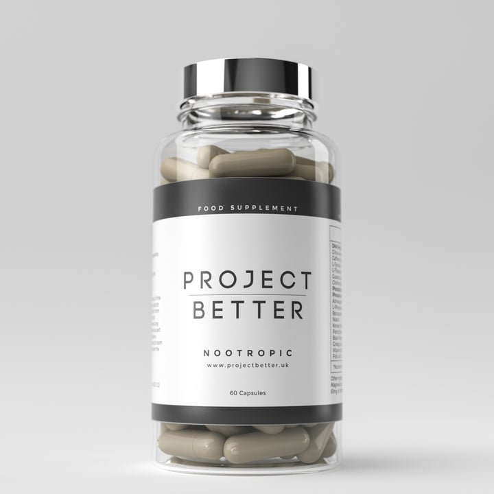 Project Better Nootropics - 1 Bottle