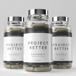 Project Better Nootropics - 3 Bottle Bundle