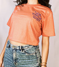 Load image into Gallery viewer, New Latinas Do Everything con Ganas Crop Tee with Embroidery