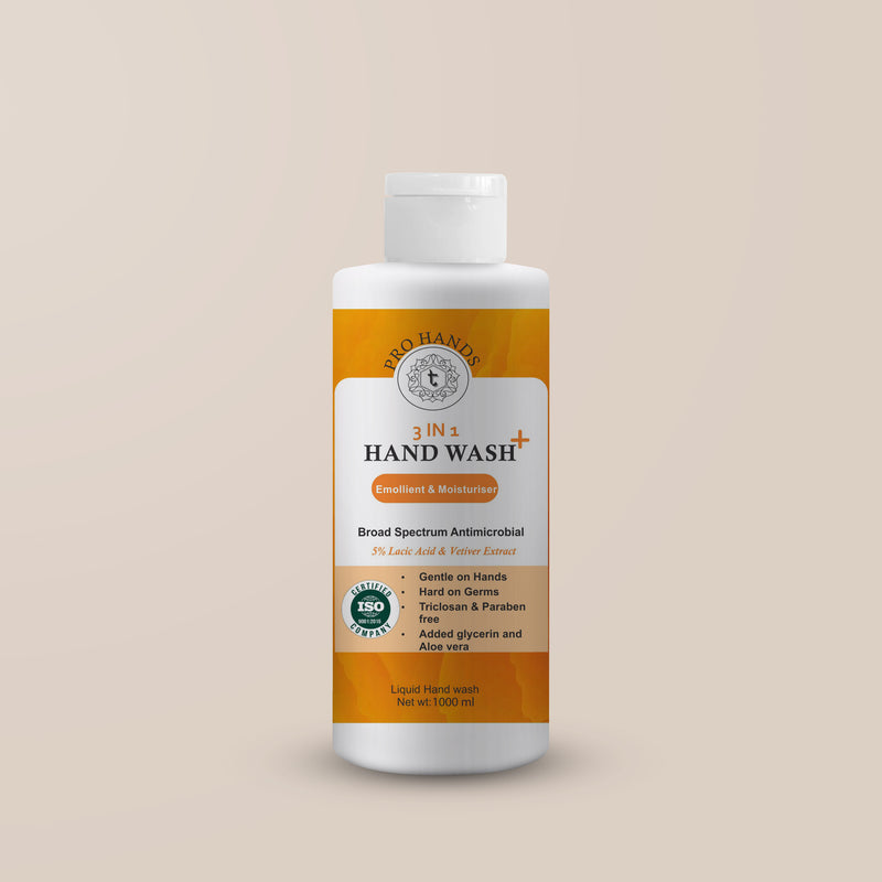 Nourishing Hand wash- Broad spectrum antimicrobial 5% Lactic Acid