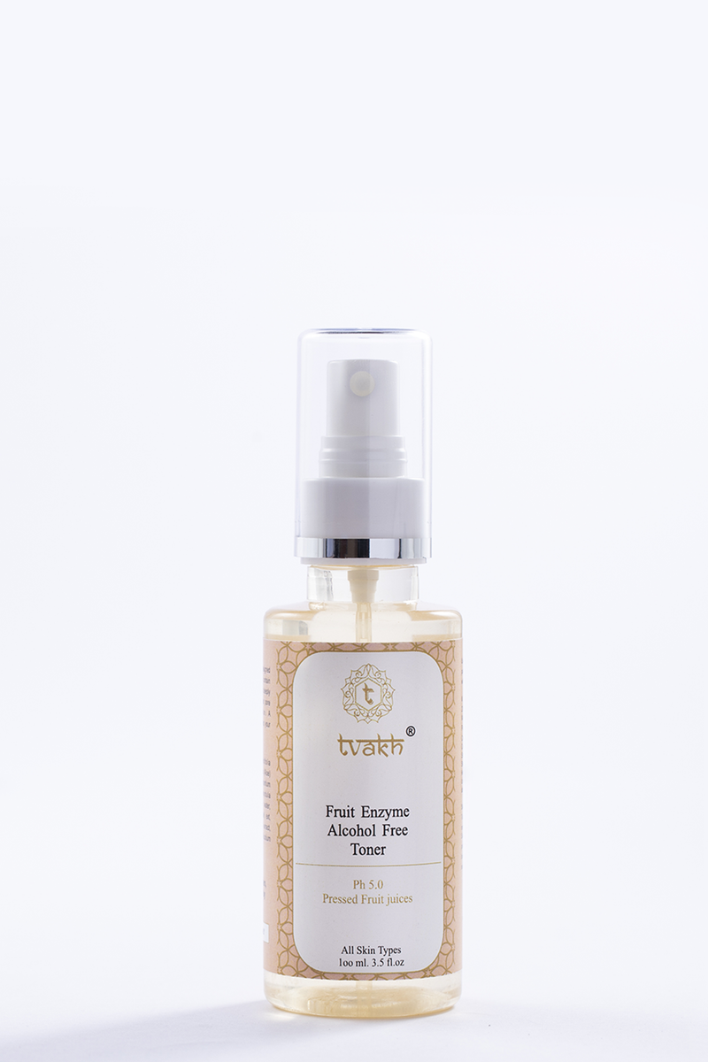 Exfoliating & Pore Reducing Alcohol Free Toner → Natural Fruit Enzymes
