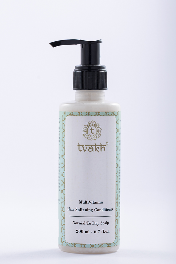Multi Vitamin Hair Softening Hair Conditioner → Vitamin E + Biotin + Milk Peptides