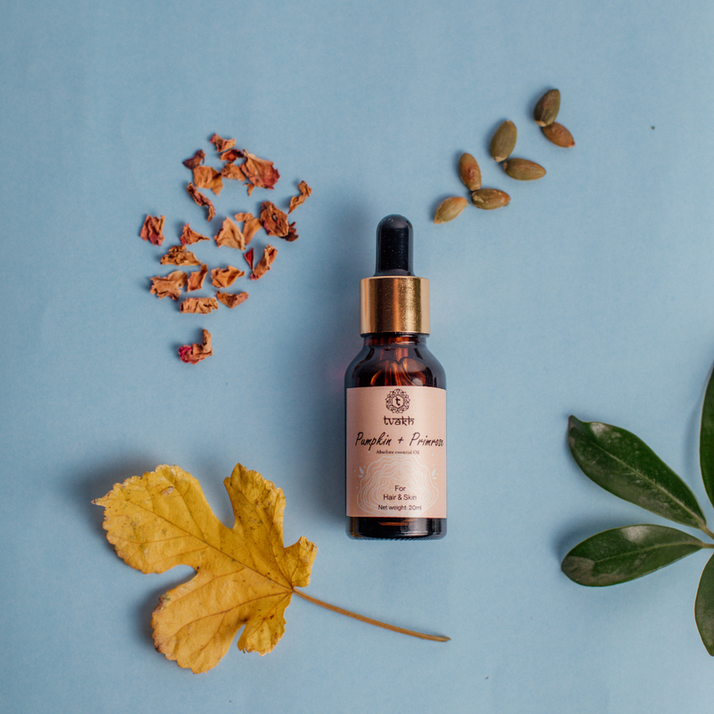 100% Cold pressed Pumpkin + Primrose Gold Oil-20 ml