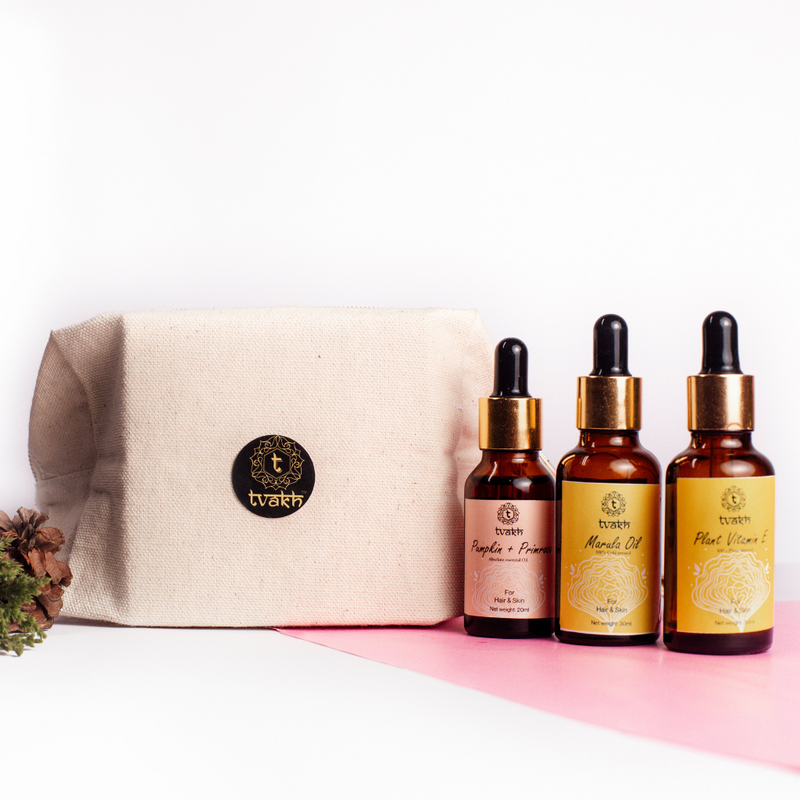 Massage + Glow Facial Oil Trio
