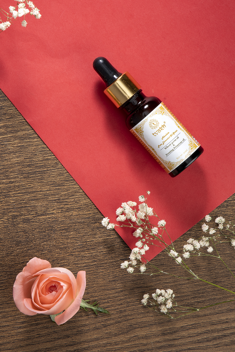 Firming & Boosting Facial Oil → Wheat Germ + Evening Primrose