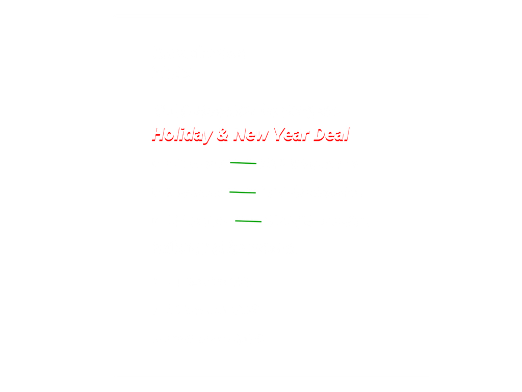 Five Thirteen Strength Personal Training Holiday Deals