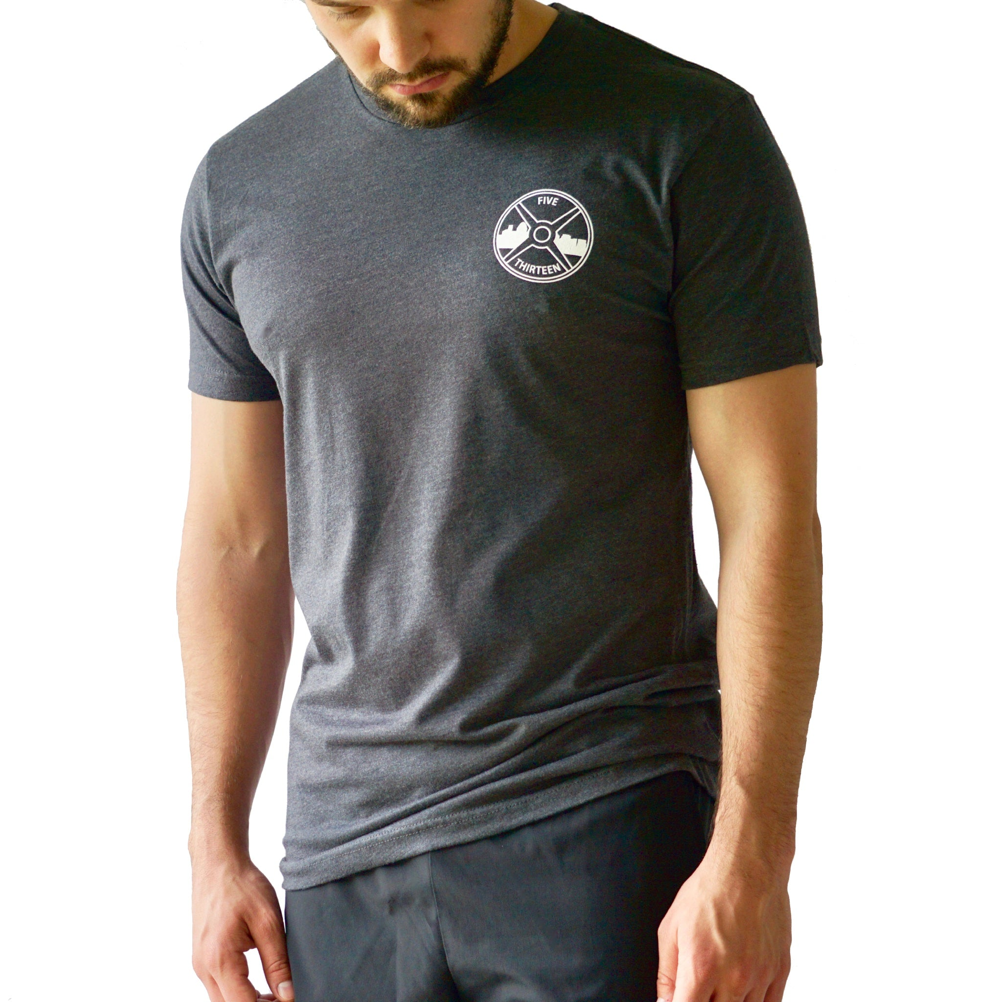 Charcoal-Performance Shirt