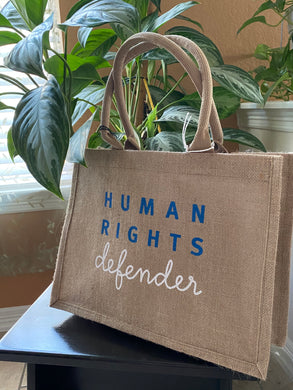Human Rights Shopping Tote