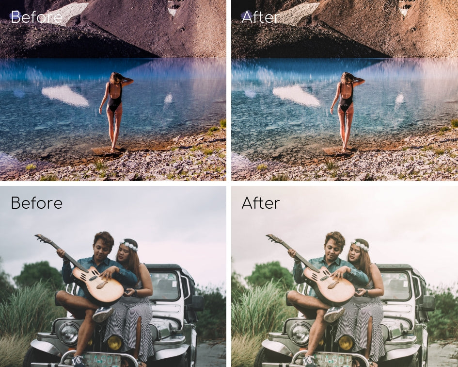Mobile Lightroom Preset *WILD & FREE*