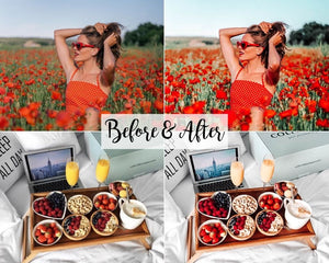 Desktop Lightroom Preset *POPPY*