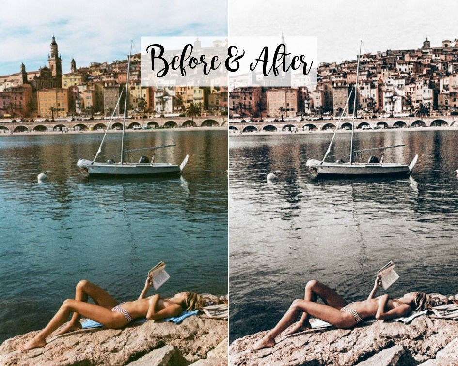 Desktop Lightroom Preset *ROMAN HOLIDAY*