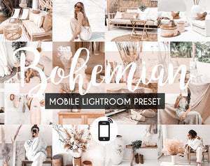 Mobile Lightroom Preset *BOHEMIAN*