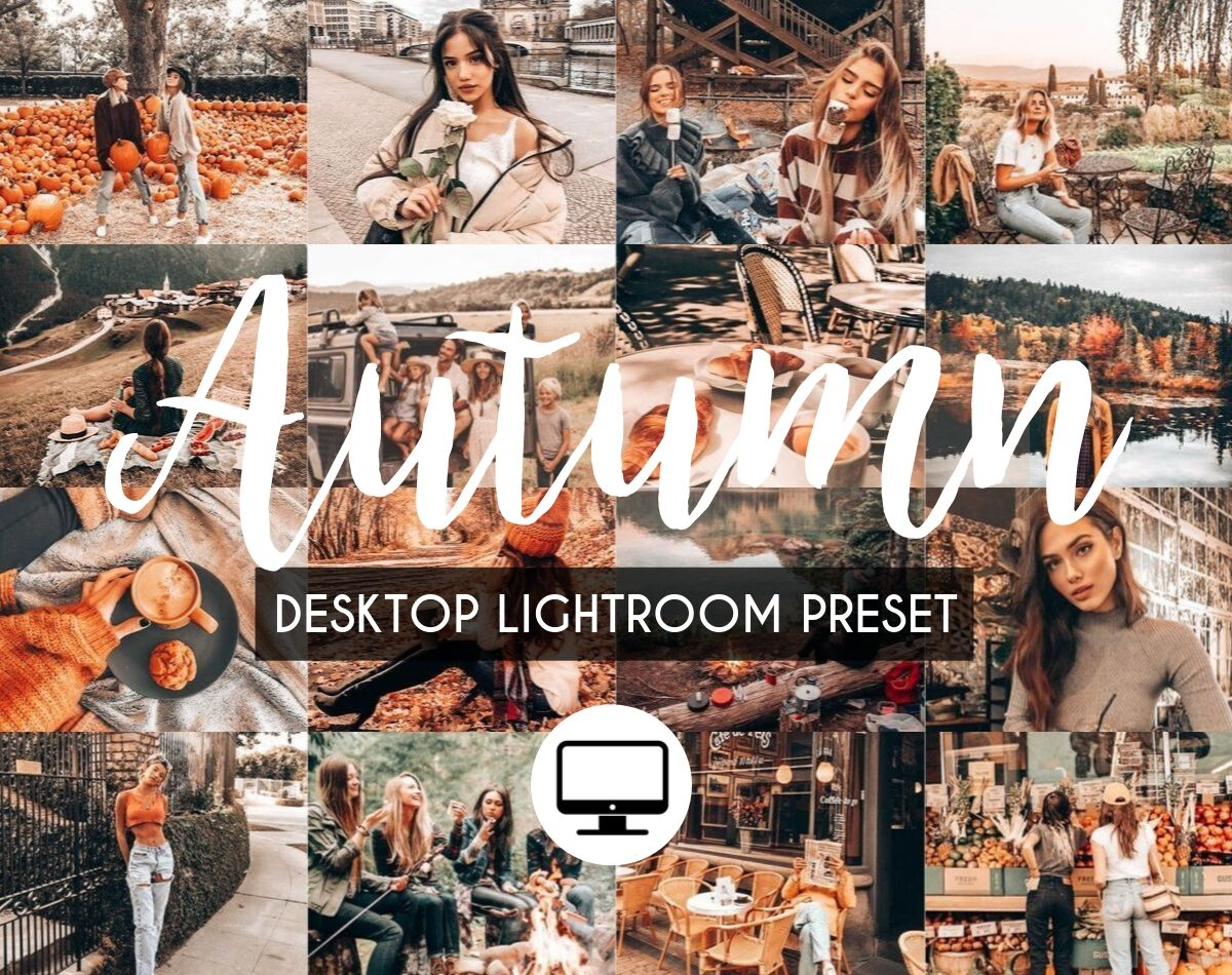 Desktop Lightroom Preset *AUTUMN*