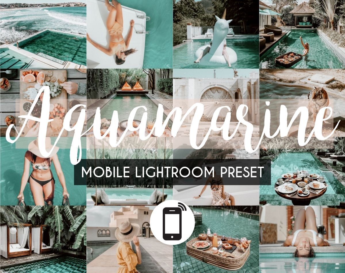 Mobile Lightroom Preset *AQUAMARINE*