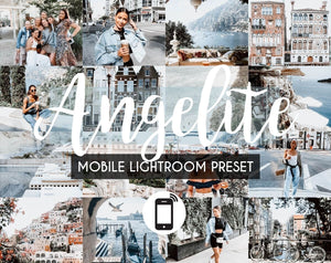 Mobile Lightroom Preset *ANGELITE*