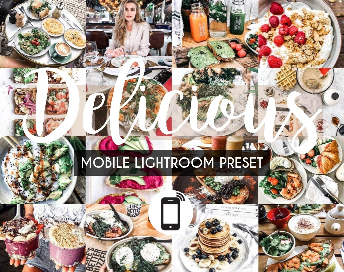 Mobile Lightroom Preset *DELICIOUS*