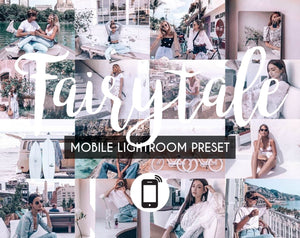 Mobile Lightroom Preset *FAIRYTALE*