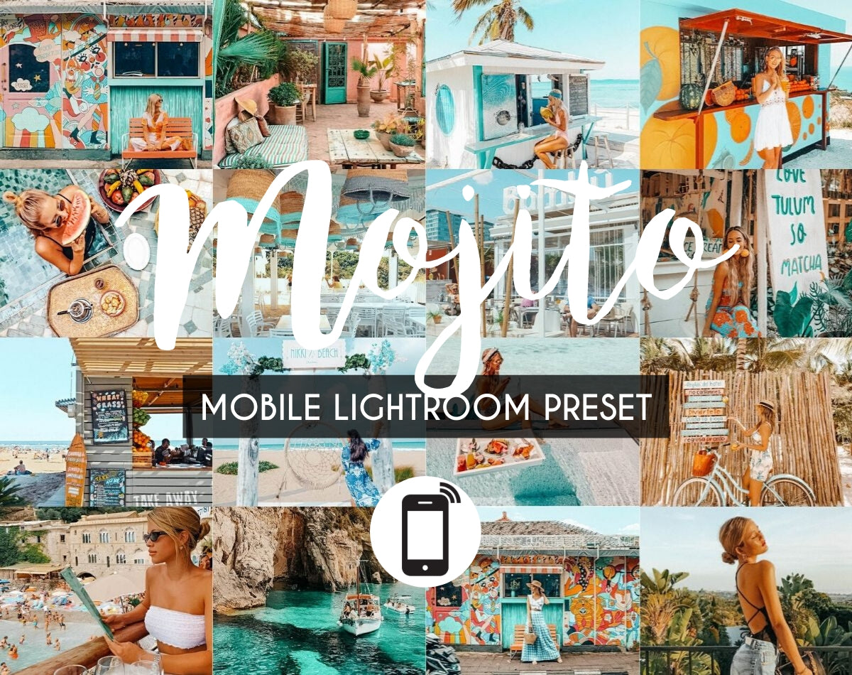 Mobile Lightroom Preset *MOJITO*