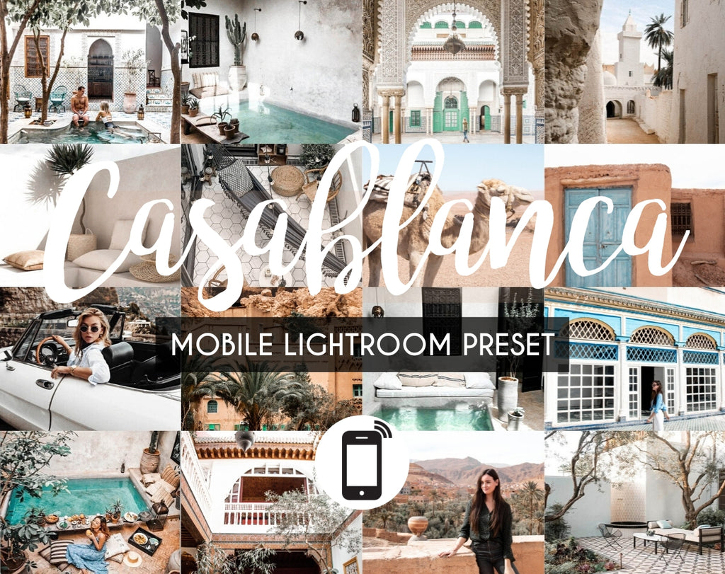 Mobile Lightroom Preset *CASABLANCA*