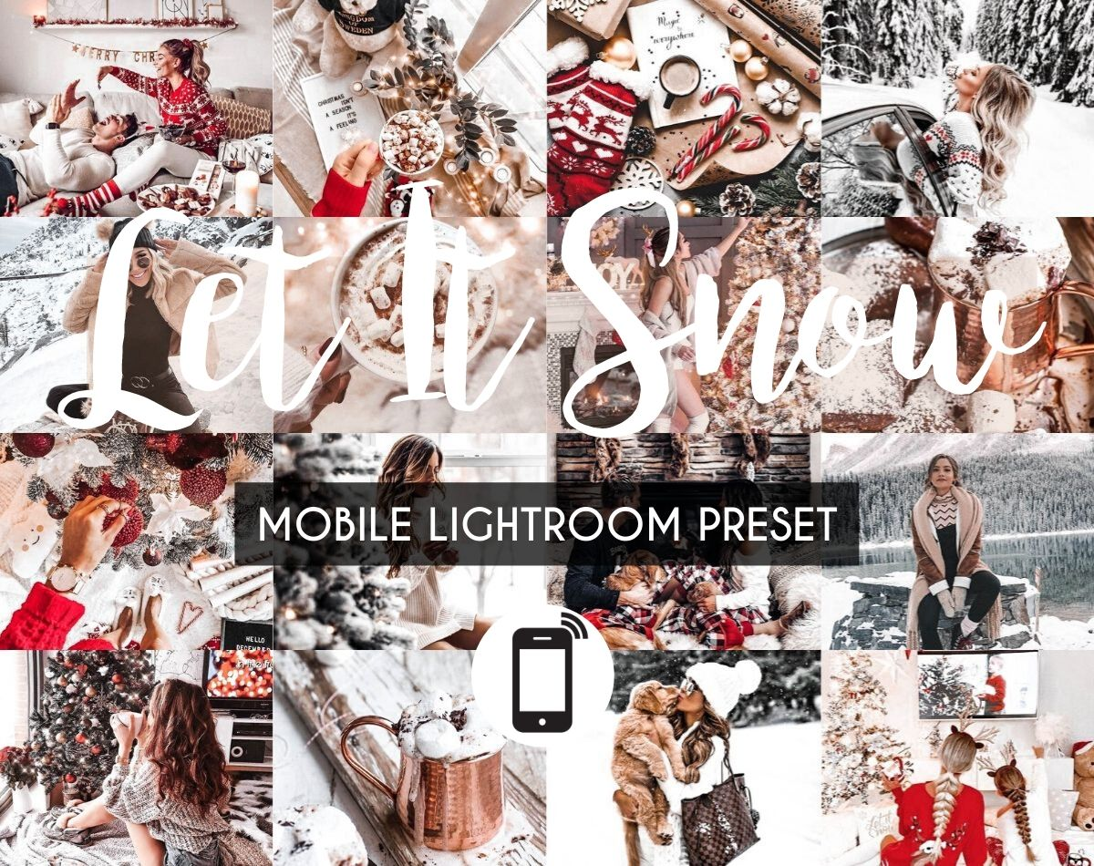Mobile Lightroom Preset *LET IT SNOW*