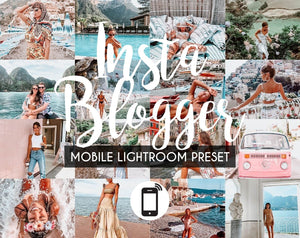 Mobile Lightroom Preset *INSTA BLOGGER*