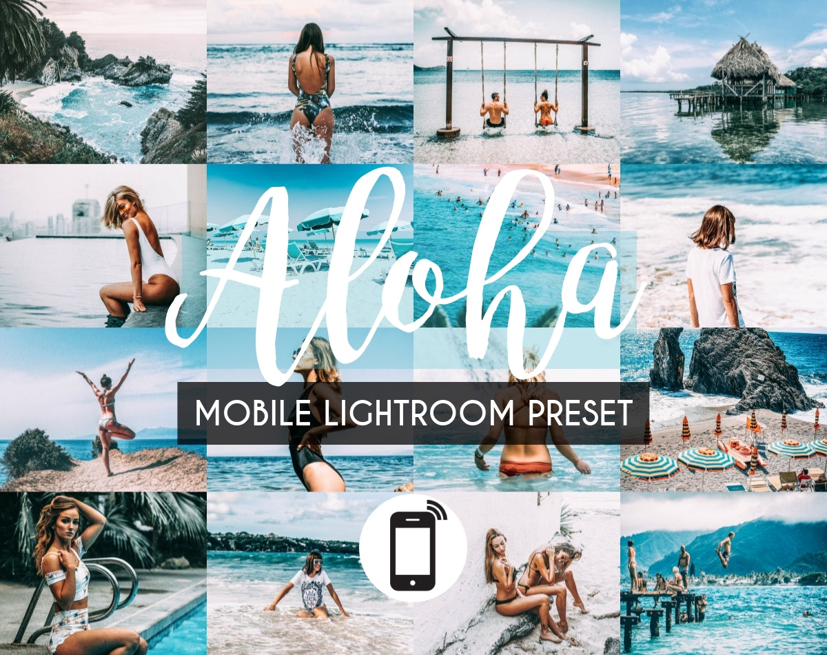 Mobile Lightroom Preset *ALOHA*