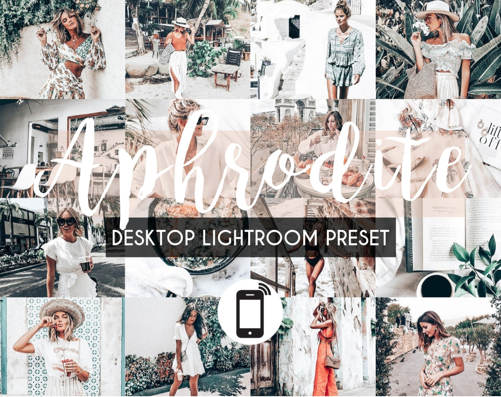 Desktop Lightroom Preset *APHRODITE*