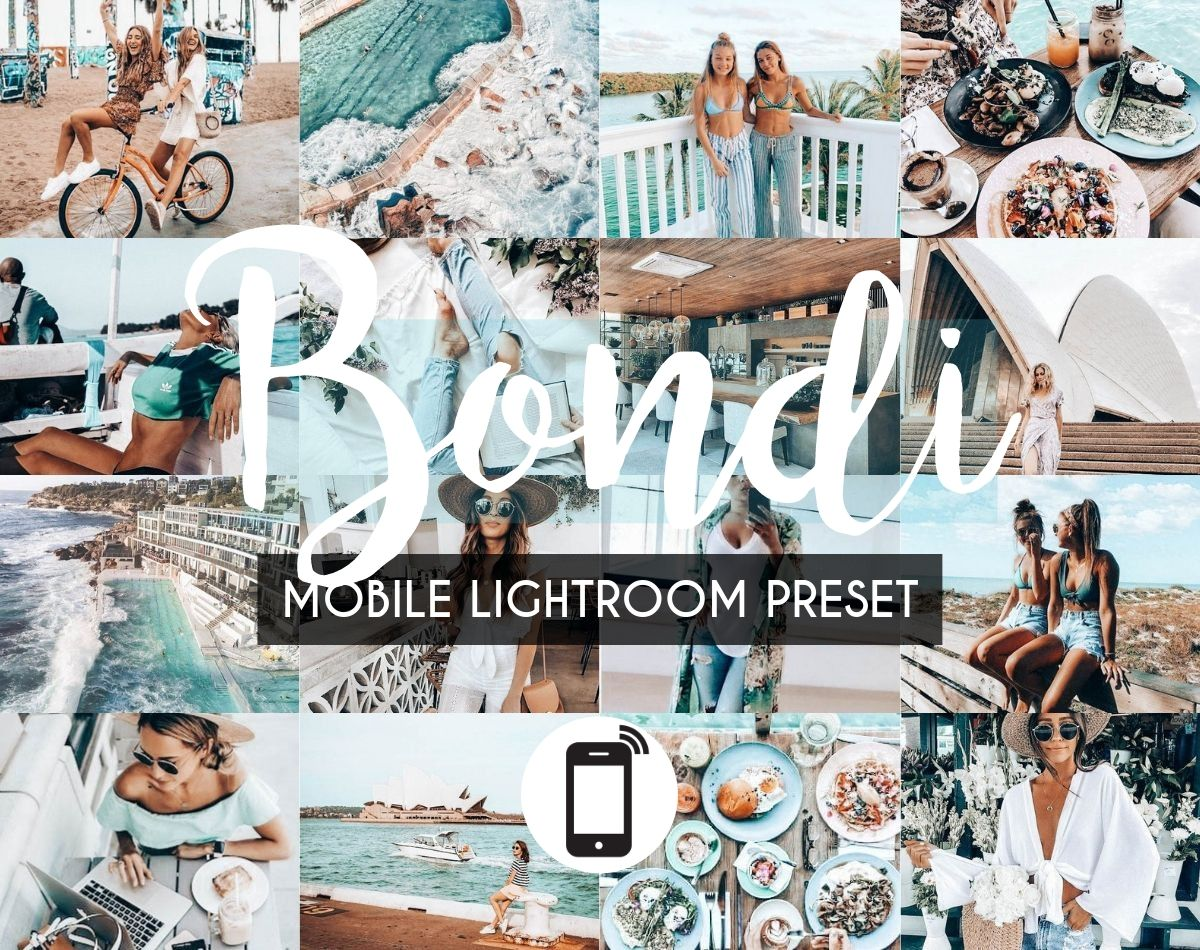 Mobile Lightroom Preset *BONDI*