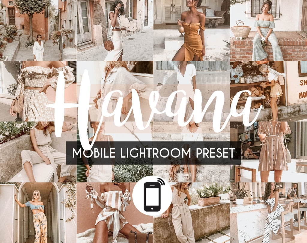 Mobile Lightroom Preset *HAVANA*