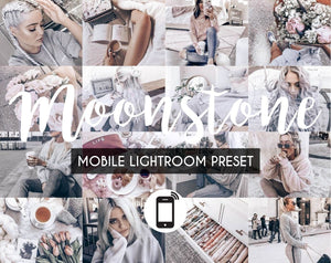 Mobile Lightroom Preset *MOONSTONE*