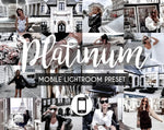 Mobile Lightroom Preset *PLATINUM*