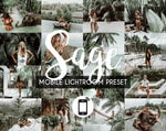 Mobile Lightroom Preset *SAGE*