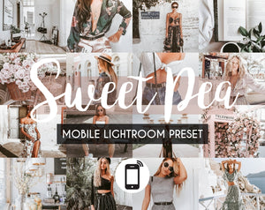 Mobile Lightroom Preset *SWEET PEA*
