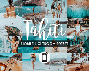 Mobile Lightroom Preset *TAHITI*