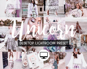 Desktop Lightroom Preset *UNICORN*