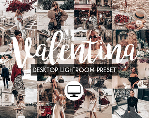Desktop Lightroom Preset *VALENTINA*