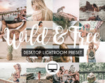 Desktop Lightroom Preset *WILD & FREE*