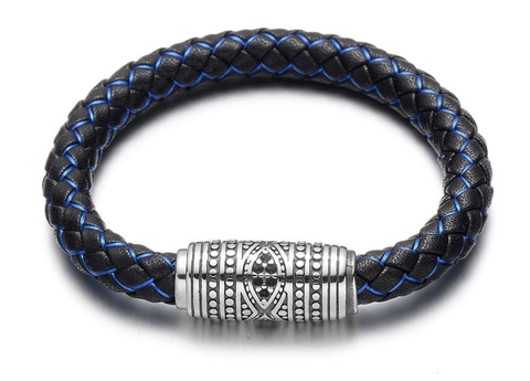 Tribes leather bracelet